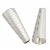 "SS.925 Cones .060""/1.5mm Hole 17x6mm (Approx 5.69gms)"